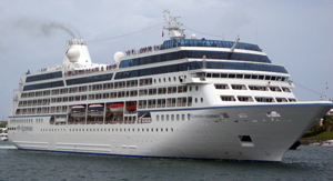 accident aboard the cruise ship